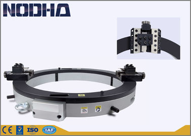 144.5kgs Pneumatic Pipe Cutting Beveling Machine With Cooling Liquid Refrigeration