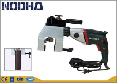 চীন Adjustable Speed Pipe Chamfering Machine 42-76MM Working Range কারখানা